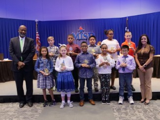 Perry October Superintendent Award